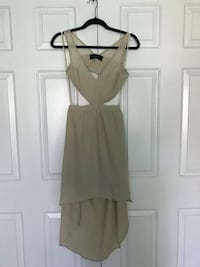 Cream Coloured High Low Dress Burlington, L7M 3M8