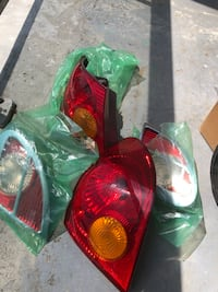 Toyota Corolla tail lights 2003 to 2008 model