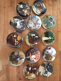 Norman Rockwell Plate Collection St Catharines, L2M 1A7