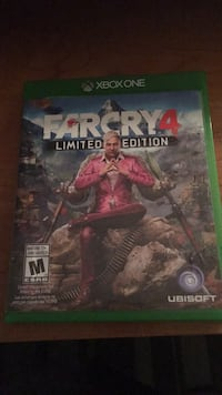 Farcry 4 limited edition xbox one game Calgary, T2A 6M8