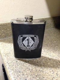 black and white standard bearers flask Camp Pendleton, 92055
