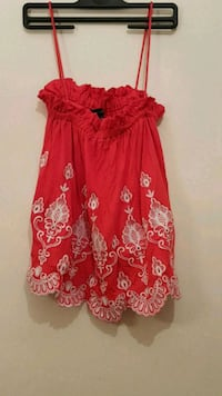 women's red and white floral dress West Midlands, CV1 4DL