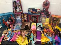 Barbie new and used lot Toronto