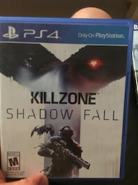Killzone Shadow Fall PS4 game case Falls Church, 22046