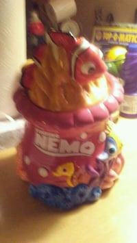 red and pink Finding Nemo plastic toy Atlantic City, 08401