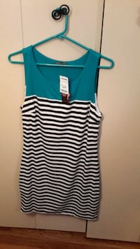 women's black and white stripe sleeveless dress Catonsville, 21228