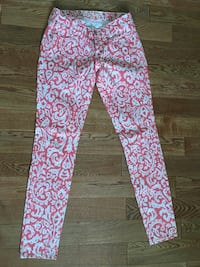 Size 6 Old Navy Coral Printed Jeans Rockville, 20850
