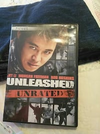 Unleashed Unrated movie case Enterprise, 36330