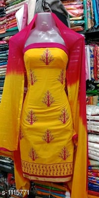 women's red and yellow floral dress Mumbai, 400005