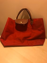 Orijinal Longchamp La Pliage Cabas Top Handle Open Tote (Original)