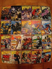 Wizard comics magazine 25 issues Alexandria, 22312
