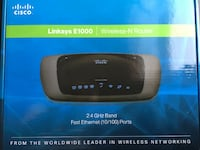 Linksys E1000 Wireless-N Router - works great! SAINTPAUL