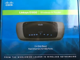 Linksys E1000 Wireless-N Router - works great!