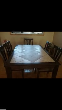 Dining Table and Six Chairs Beaconsfield, H9W