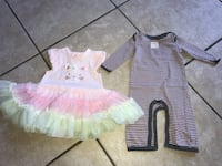 BABY GIRL clothes size 6months