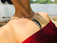 Brand new natural stone necklace New York, 11377