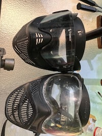 paintball mask and equipment 2292 mi