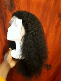 curl black hair extension