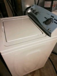white top-load clothes washer Toronto, M1W 1A1