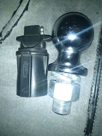 2 Tow ball with1 light adapter harnest for trailer