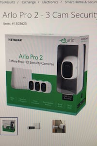 Arlo Pro 2 - 3 wireless 1080p (High Definition) Camera Security System Rockville, 20852