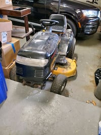 Riding lawnmower - need tires, runs otherwise