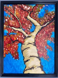 Tree painting -Acrylic on Canvas Alexandria, 22312