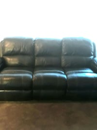 Chocolate Sofa & Loveseat Electric Recliner Set