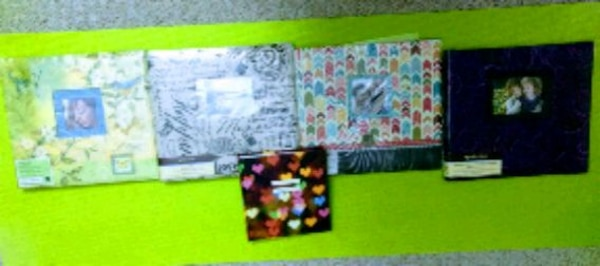 Scrapbooking and Photo albums - Brand new