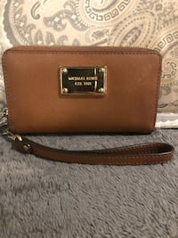 brown Michael Kors leather wallet Garden Grove, 92845