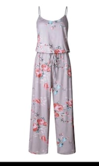 Floral Beige Jumpsuit Romper (small)  Mount Pleasant, 29464
