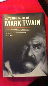 Autobiography of Mark Twain never open have two
