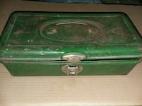 Vintage old tackle box with old cork floats Watertown, 53094