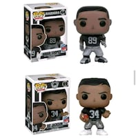 Raiders Funko Pops San Jose, 95125