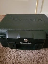 black SentrySafe safe box