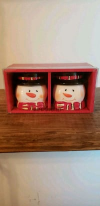 Snowman salt and pepper shakers Virginia Beach, 23456