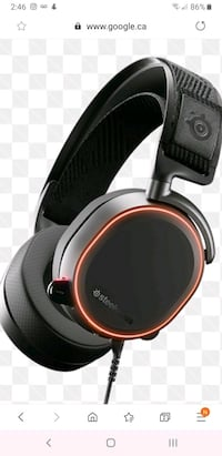 Steel series artics pro wired gaming headset