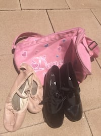 Ballet/Tap shoes w/dance bag Oceanside, 92058