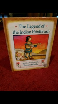 """""""The Legend of the Indian Paintbrush"""", illustrated"""
