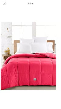 NEW!! Lacoste twin alt. down comforter- perfect for dorm Kennesaw