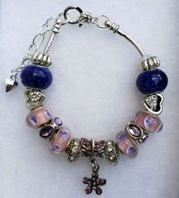 Pink and purple charm bracelet. 2 for $25 Baltimore, 21224