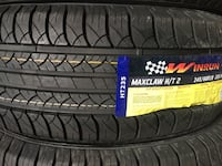 Need a deal on brand new tires? 7 days open warehouse! Montréal, H8P 2T7