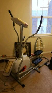 gray and black elliptical trainer Alexandria, 22311