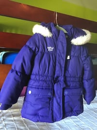 Purple zip-up bubble jacket, size 3t Ashburn, 20147