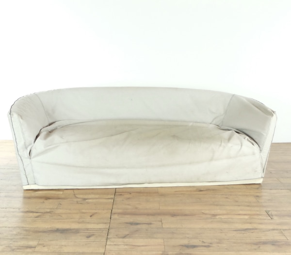 Astounding Contemporary White Upholstered Single Cushion Sofa 1019413 Alphanode Cool Chair Designs And Ideas Alphanodeonline