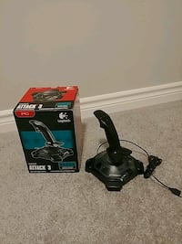 black Attack 3 joystick