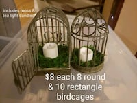 Rustic bird cages mini Brampton, L6V 2S8