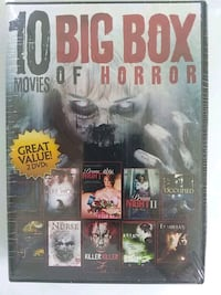 Horror Movies DVD Concord, 03303