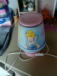 Rose et bleu lampe de table Disney Princesses