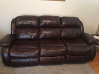Leather sofa set with recliners Bowie, 20721